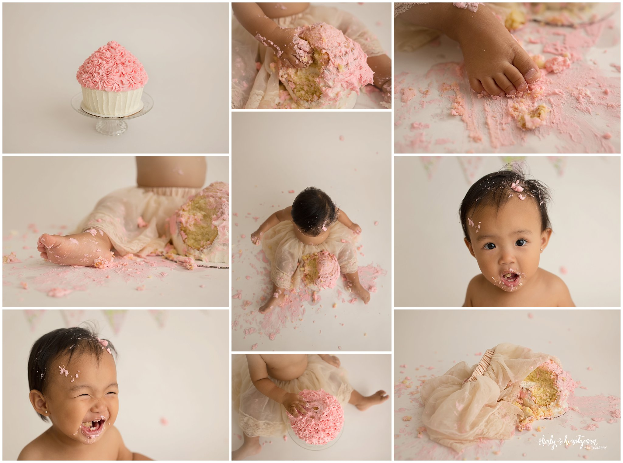 First Birthday Cake Smash Session NYC