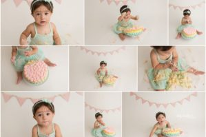 Pastel Cake Smash Session Brooklyn NY | www.ShirlySchvartzman.com