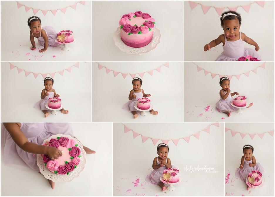 NYC Cake Smash Photographer | www.shirlyschvartzman.com