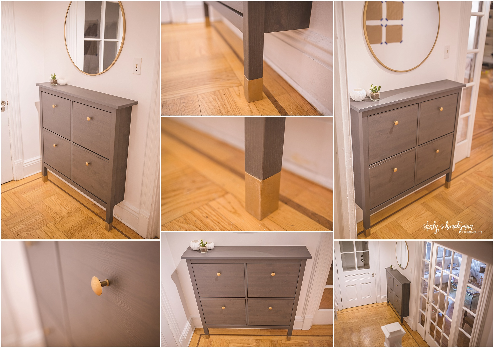 Ikea Hack Hemnes Shoe Cabinet Storage For Tall Baseboards.